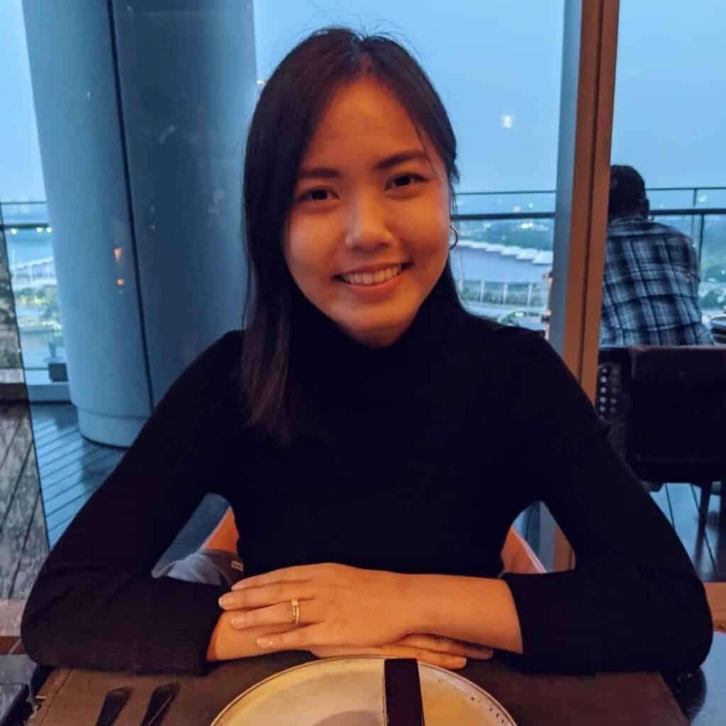 Emcee James Yang With Cheryl Bok