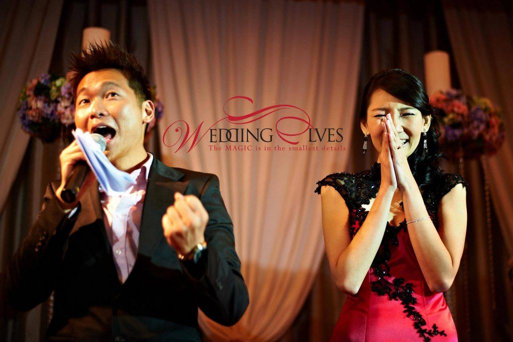 Wedding Emcee Singapore James Yang Hosting a Wedding
